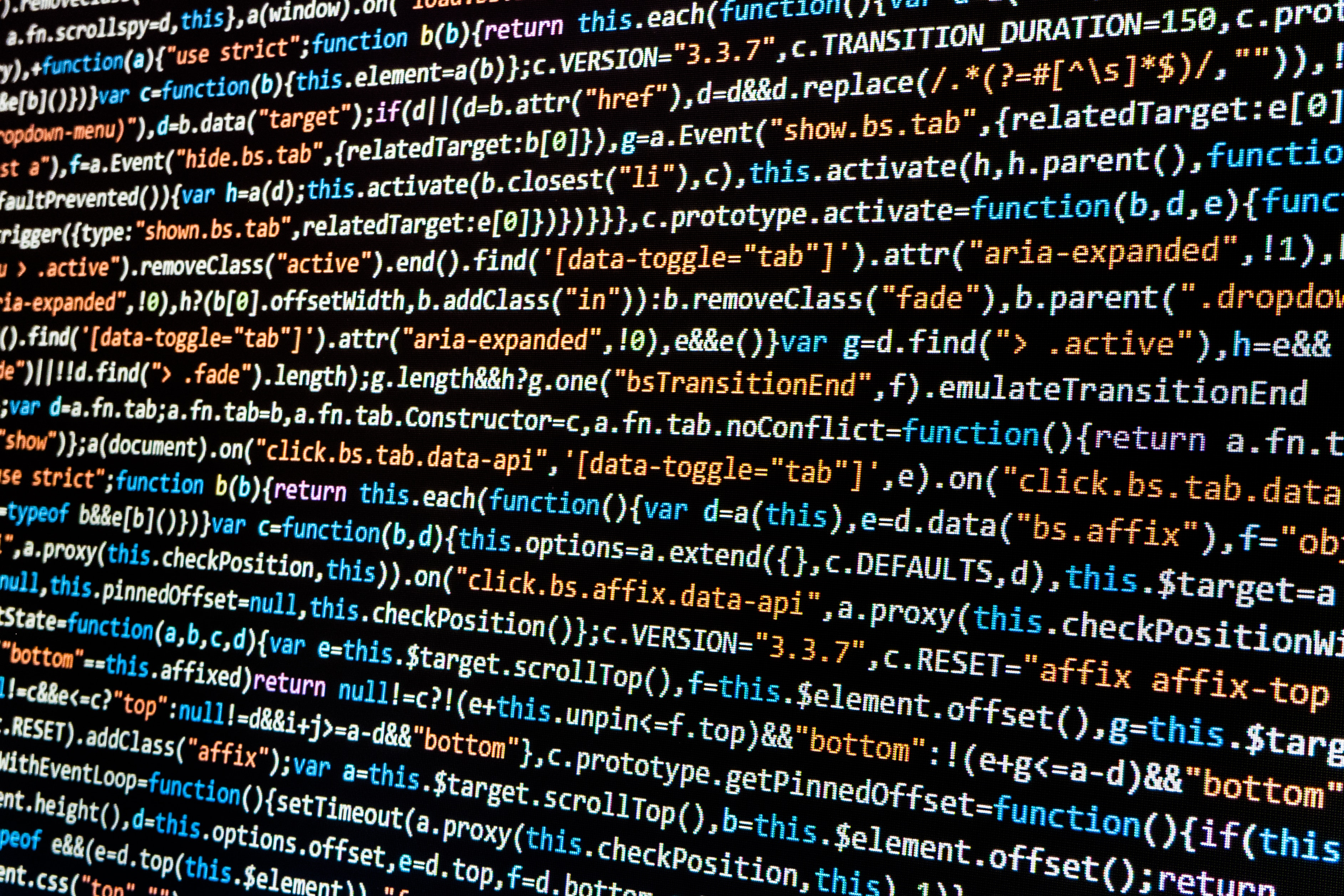 html source code Photo by Lorenzo Cafaro from Pexels - BQMI has developers working on applications and websites